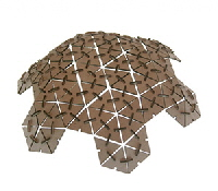 LaserCut_Geodesic_Dome